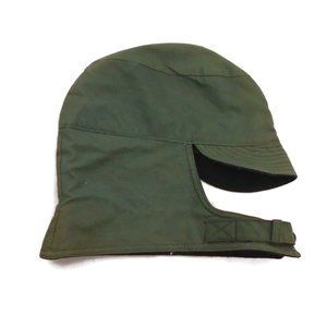 WW2 Military Hat Men 7 1/4 Green Adjustable Chin